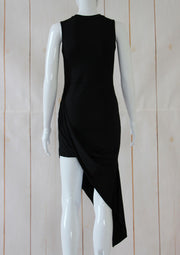 Sexy Sleeveless Bandage Cocktail Asymmetrical  Dress - MaestosoRosso_Fashion_Store