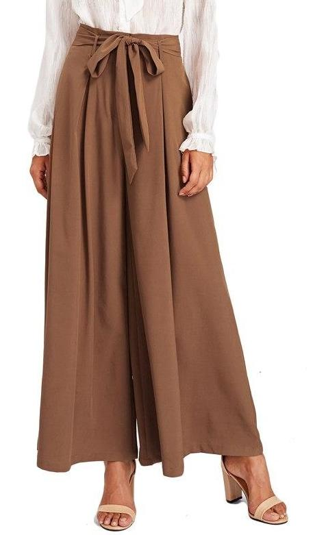 Loose Wide Leg Pants - MaestosoRosso_Fashion_Store