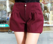 Models Pleated Shorts - MaestosoRosso_Fashion_Store