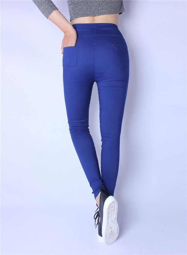 Back Pocket Leggings - MaestosoRosso_Fashion_Store