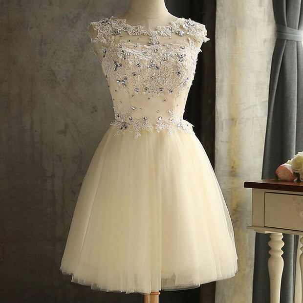 Elegant Lace Diamond Dress - MaestosoRosso_Fashion_Store