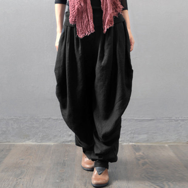 Wide Leg Cargo Pants - MaestosoRosso_Fashion_Store