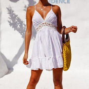 Summer Sleeveless A-line Dress - MaestosoRosso_Fashion_Store