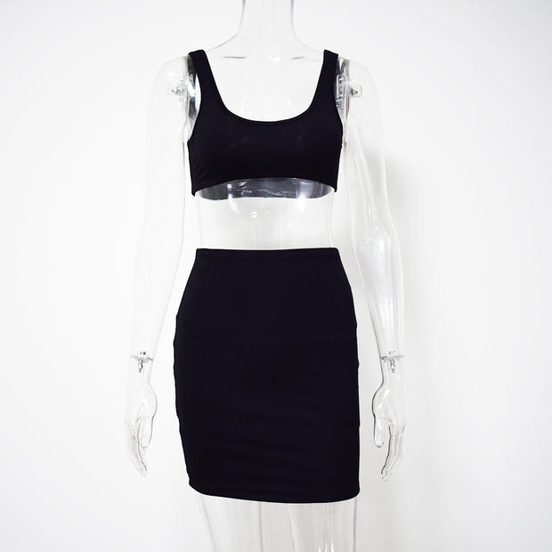 Casual/Sporty Two Piece Set - MaestosoRosso_Fashion_Store
