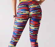 Knit Printed Legging - MaestosoRosso_Fashion_Store