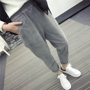 Autumn/Winter Corduroy Pants - MaestosoRosso_Fashion_Store