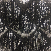 Backless Sequin Rain Mini Dress - MaestosoRosso_Fashion_Store