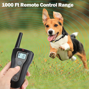 Casifor Dog Training Collar for 2 Dogs 1000ft Remote 100% Waterproof