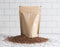 Organic Brown Flax Seeds Plastic-free, compostable packaging pouch - risemrkt