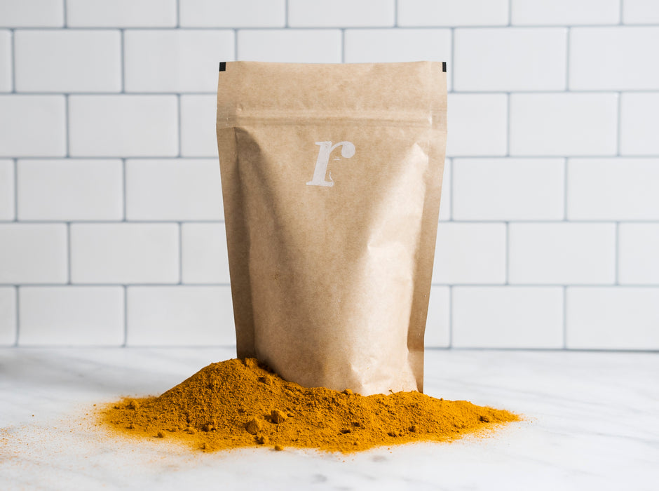 Organic Single Origin Turmeric - 8oz - risemrkt