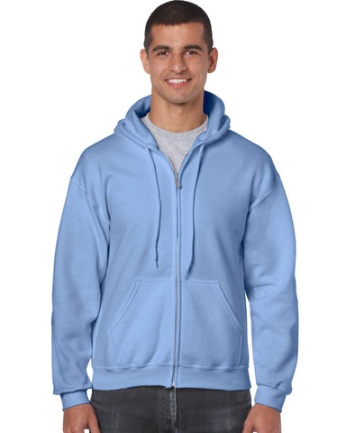 Gildan 18600 Men's Blank Zip Hoodies - Dori Apparel
