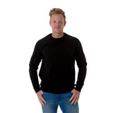 CB Men's Unbrushed Crew Neck Jumper