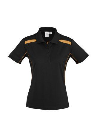 P244LS BizCollection United S/S Ladies Polo