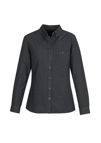 S017LL Biscollection Indie Ladies Long Sleeve Shirt