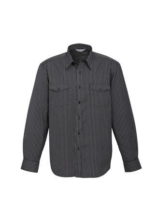 S10410 BizCollection Cuban Men's Long Sleeve Shirt