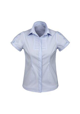 S121LS BizCollection Berlin Ladies Short Sleeve Shirt