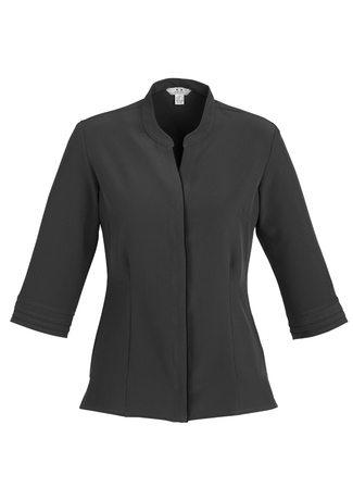 S231LT BizCollection Quay Ladies ¾ Sleeve Shirt