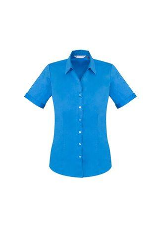 S770LS BizCollection Monaco Ladies Short Sleeve Shirt