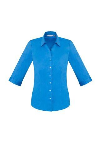 S770LT BizCollection Monaco Ladies ¾ Sleeve Shirt