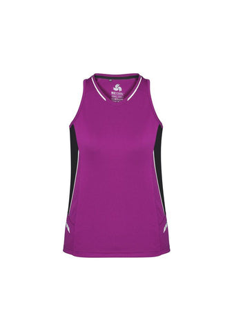 SG702L BizCollection Ladies Renegade Singlet