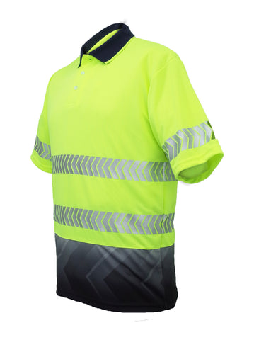 SP0723 Short Sleeved Hi Vis Polo Shirts