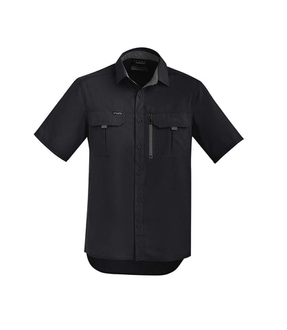 Syzmik ZW465 Mens Outdoor Short Sleeve Shirt
