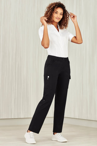 CL954LL BizCollection Womens Comfort Waist Cargo Pant