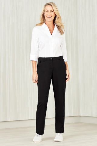 CL955LL BizCollection Womens Comfort Waist Straight Leg Pant