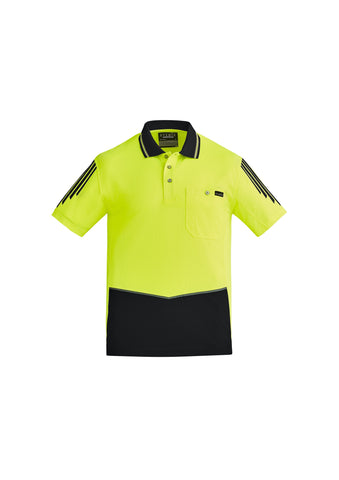 ZH315 Syzmik Mens Hi-Vis Flux Polo Shirts