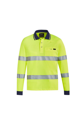 ZH380 Hi-Vis Long Sleeve Polo Shirts