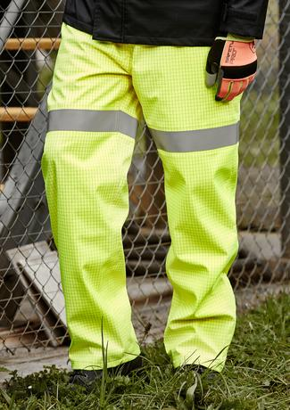 Syzmik ZP902 Waterproof Pants | Arc Rated, HRC 2, FR on model