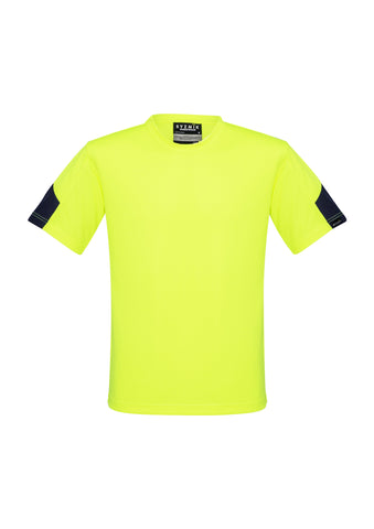 Syzmik ZW505 Hi Vis Squad & Trade T-Shirt Yellow front