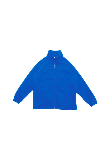 CJ1585 Unisex Adults Poly/Cotton Fleece Zip Through Jacket