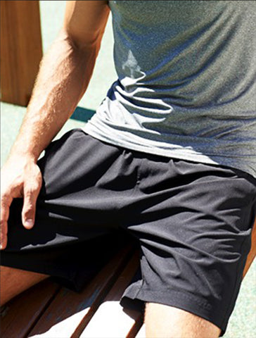CK1433 Men's Woven Running Shorts