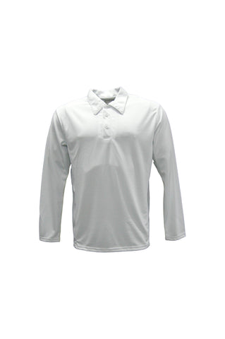 CP1214 Kids Long Sleeve Cricket Polo
