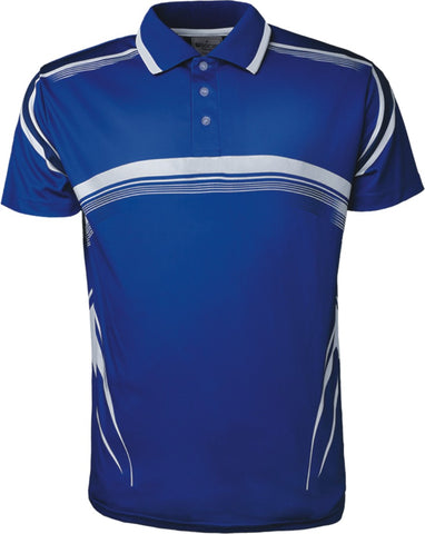 CP1447 Unisex Adults Sublimated Gradated Polo