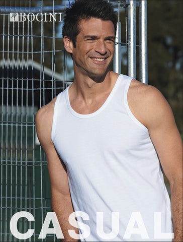 CT0371 Mens Cotton Singlet