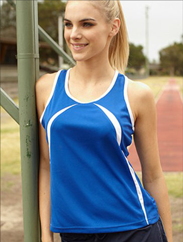 CT0757 Ladies Breezeway Singlet
