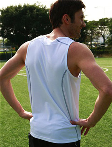 CT0926 Stitch Feature Essentials-Men's Stitch Singlet