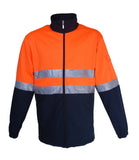 SJ1103 Unisex Adults Hi-Vis Soft Shell Jacket With Reflective Tape