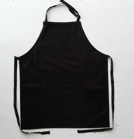 WA0396 Cotton Drill Full Bib Apron - With Pocket