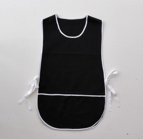 WA0398 Cotton Drill Popover Apron - With Pocket