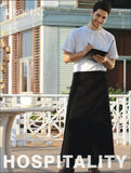 WA0624 Polyester Drill Continental Apron - With Pocket