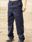 WK617 Unisex Adults Cotton Drill Work Pants