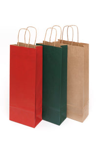 Kraft paper bottle bags