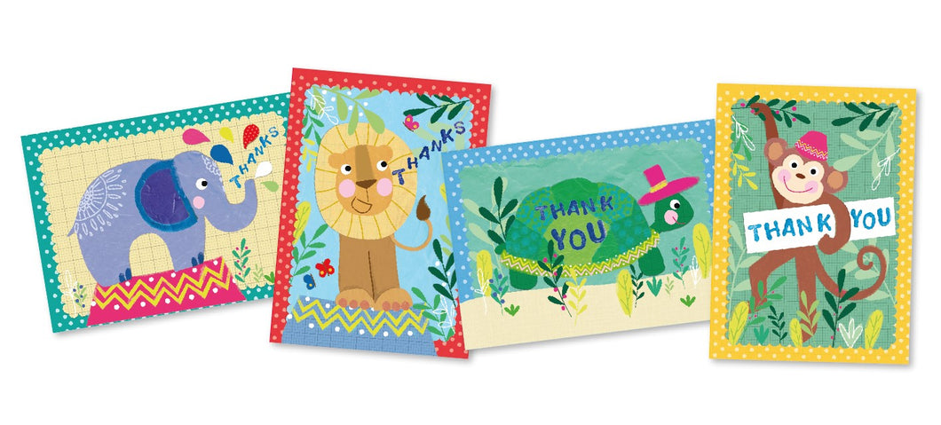 Thank you cards (pack of 16)