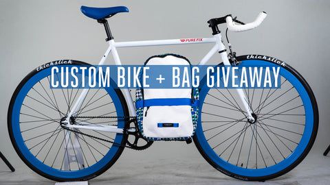 Custom Bike + Bag Giveaway