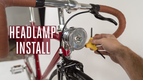 How to Install Our Pure City Headlamp