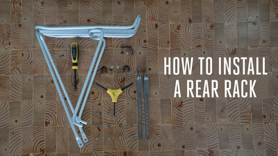 How to Install a Rear Rack