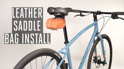 How to Install Our Leather Saddle Bag